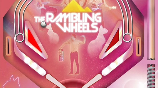 The Rambling Wheels Pinball Online Advergame
