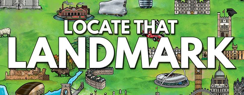Locate That Landmark Educational Game