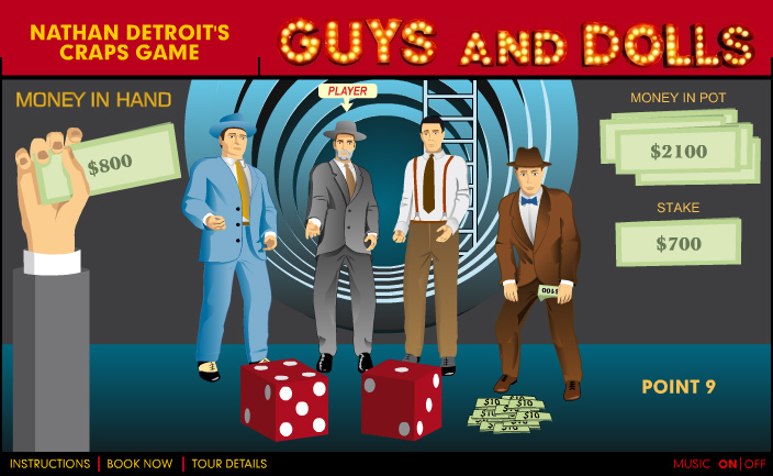 Guys and Dolls - Nathan Detroit's Craps Game