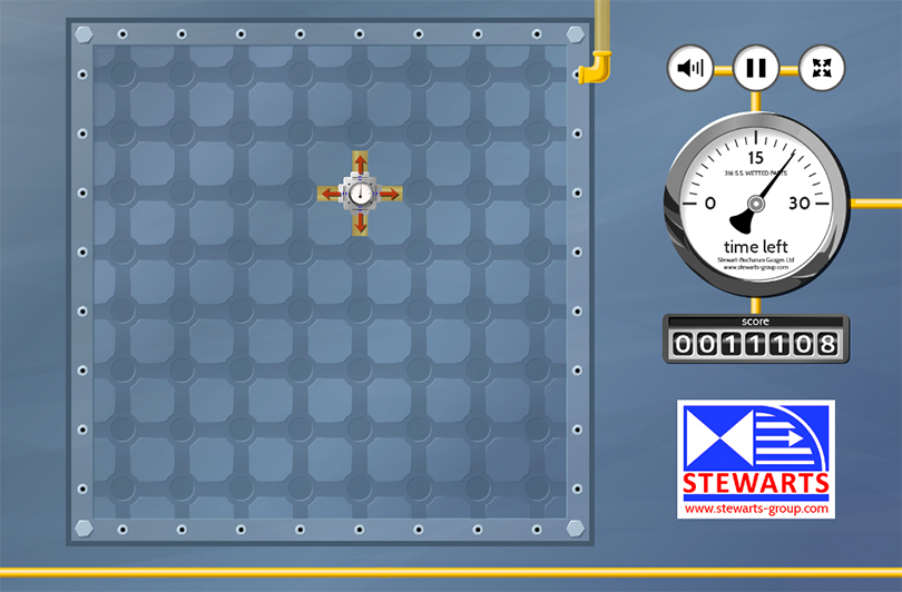 Pressure Panic HTML5 Exhibition Game