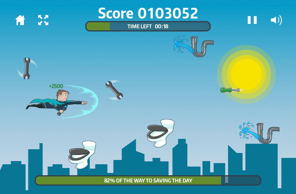 Local Hero Branded HTML5 Game