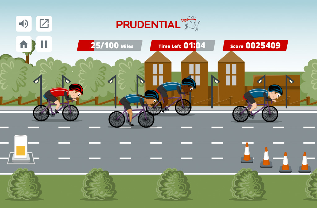 Peloton Challenge Branded HTML5 Game
